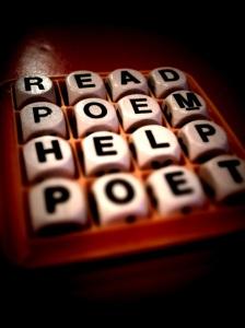 read poem, help poet